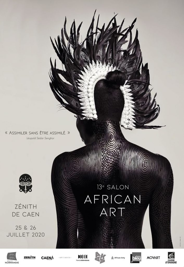 Salon Africant Art Affiche de type arrêt de bus art & graph