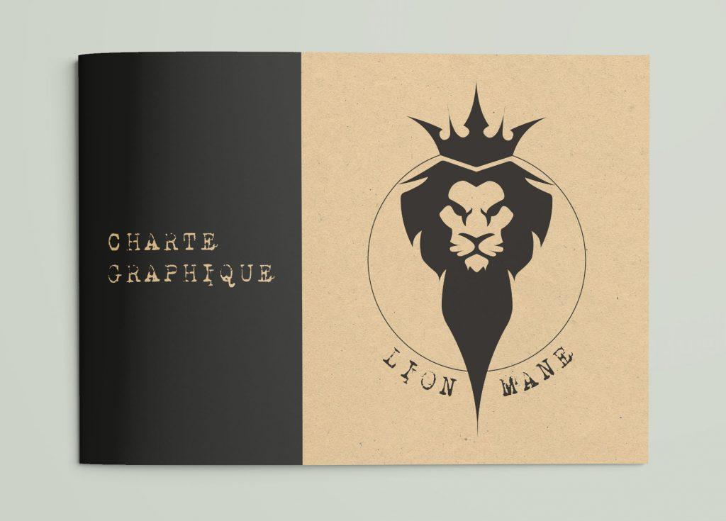 Charte graphique - Lion Mane 210 x 148,5 mm art& graph